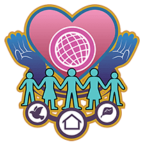 badge for human-services cluster