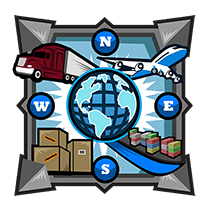 badge for logistics cluster